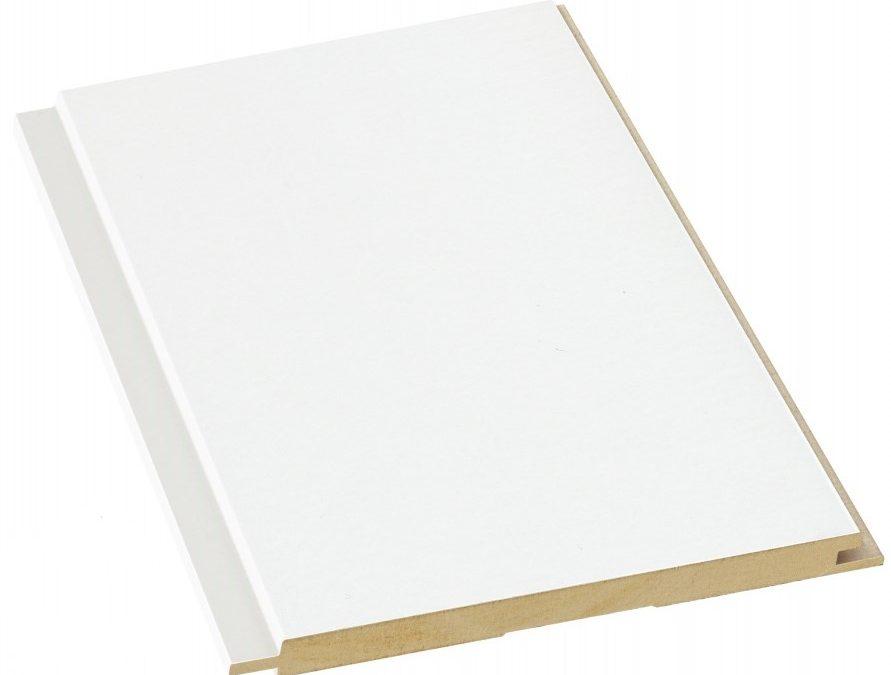 10x175x2080 STS(5) MDF puhdas valkoinen mel.